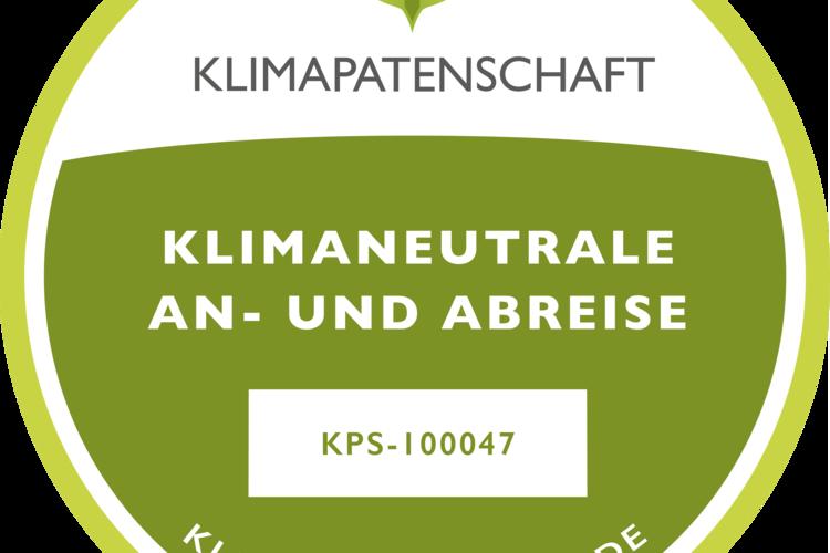 Klimaneutrale Anreise